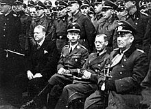 Vidkun Abraham Lauritz Jonssøn Quisling; 18 July 1887– 24 October 1945) was a Norwegian politician. On 9 April 1940, with the German invasion of Norway in progress, he seized power in a Nazi-backed coup d'etat.