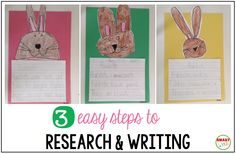 Smart Kids: 3 easy steps to research and writing