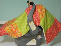 Cover Me Canopy Blanket in Melon Sorbet