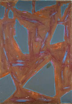 Betty Parsons Variation, 1957 (Oil on canvas, 80 1/2 x 56 1/2 inches) Spanierman Gallery, NYC