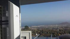 Instalación #WifiCanarias #AirInternet en Arafo - Valle de Guimar