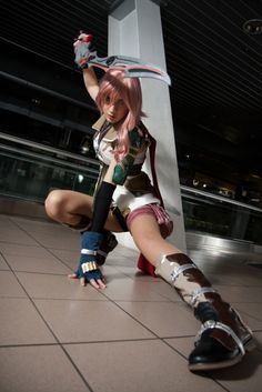 Land of the Otaku, cosplayblog: Lightning from Final Fantasy XIII ...