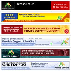 Provide Support is continually seeking partnerships with complementary businesses and service providers.The Provide Support partnership model is very uncomplicated and simple to sign up for. You are automatically subscribed as an affiliate when you create an account with us.You don't have to be a paying customer to participate in our affiliate program.Different advertising banners for reselling ProvideSupport's Live Chat service are available at…