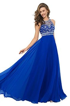 Artie Gorgeous A-line Floor Length Chiffon Prom Dresses Evening Dresses * Want additional info? Click on the image.