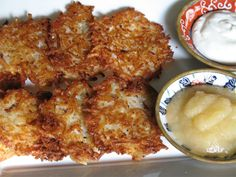 Happy Hanukkah! Alison is a good friend and accomplished cook in her home kitchen, where the entire family is gluten free. Recently, Alison prepared and posted her delicious latkes recipe on her blog. You can make it with either Pamela's Bread Mix or Artisan Flour Blend.