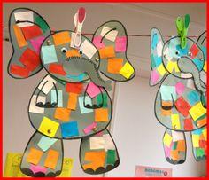 Elmer Teaching Themes, Kindergarten Themes, Teaching Colors, Preschool Ideas, Rainbow Activities, Book Activities, Storybook Crafts, Elmer The Elephants, September Themes