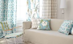 Fougere Fabric Collection (source Romo) / Wallpaper Australia / The Ivory Tower Romo Wallpaper, Fabric Wallpaper, Romo Fabrics, Upholstery Fabrics, Interior Decorating, Interior Design, House Made, Color Azul, Colour