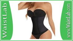 Waist Trainer Corset for Weight Loss Sport Workout Body Shaper Tummy Fat Burner Review ~ WaistLab