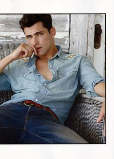 Sean O'Pry & Ollie Edwards Embrace Ralph Lauren's Iconic Style for Fashion for Men