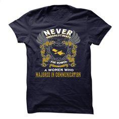 MAJORED IN COMMUNICATION T Shirt, Hoodie, Sweatshirts - custom hoodies #tee #Tshirt