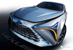 Lexus LF-1 exterior sketch
