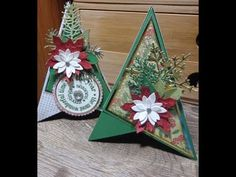 12 Weeks Of Christmas Crafts 11 3d Tee Pee Christmas Card Youtube Christmas Cards Handmade Christmas Cards Christmas Card Template