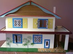 """Amy's Miniatures and Smalls / Lundby Doll Houses Plus Any House 3/4"""" Scale: GeeBee House"""