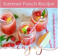 "Summer Punch Recipy INSTRUCTIONS Lemonade (2L) Gingerale (3L) Cranberry Juice (3L) JC Le Roux La Domaine (1 Bottle) Mint leaves, Raspberries and Lemon slices (Lots of ice) MIX TOGETHER! (Lionel says for extra ""punch"" add as much gin as you'd like...) #summerpunch #drinks #holidaydrinks #refechingdrinks #poolparty"