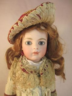 Antique French Bisque Doll Rare #1 BRU Jne Chevrot Hinged Label Body Cork Pate