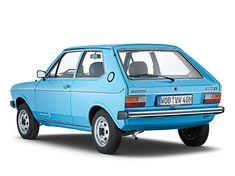 Das Basismodell des VW Polo war 1975 bereits ab 7.500 DM erhältlich, den hochwertiger ausgestatteten Polo L gab es ab 8.010 DM. ☺