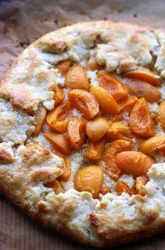 Apricots can be a bit iffy when eaten out of hand, but in this apricot frangipane galette, they are spread atop a flaky buttery pastry crust and creamy almond pastry cream, where they are roasted to deeply sweet perfection. Summer Desserts, Healthy Desserts, Delicious Desserts, Yummy Food, Tart Recipes, Almond Recipes, Dessert Recipes, Almond Pastry, Pie Crumble