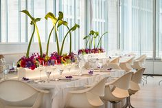 HMR Designs devises the ultimate modern wedding decor for the urban sophisticate at the Art Institute in Chicago.