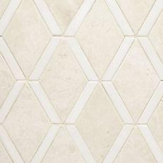 Emperador Marble, Honed Marble, Stone Mosaic Tile, Pebble Mosaic, Unique Tile, Ceramic Wall Tiles, Marble Stones, Decorative Tile, Floor Decor