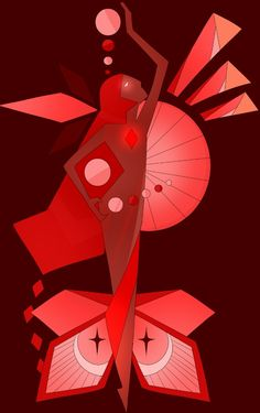 Red diamond Steven Universe. Guys. Guys! What if this was Blood Diamond, and no one really knows whose side she's on, and that just makes her even more terrifying.