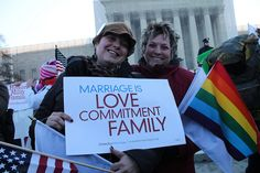 """On June 26, 2015, in a five-to-four decision, the United States Supreme Court declared that states cannot deny homosexual couples the right to marriage. NPR's Nina Totenberg summarized the significance of the decision: """"This is probably right up"""
