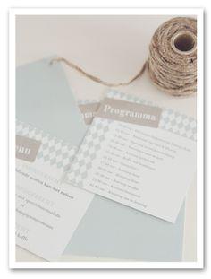 #menukaart #dagprogramma #inlegkaartje