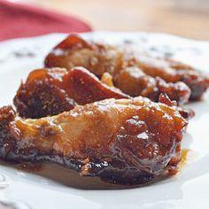 Chicken Wings (mustard, honey, garlic, soy sauce)