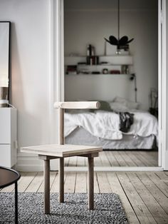 Simple home in a historic building - via cocolapinedesign.com