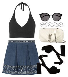 """Style #10239"" by vany-alvarado ❤ liked on Polyvore featuring Sea, New York, Topshop, Miu Miu, Yves Saint Laurent and ASOS"