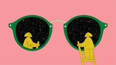 531b2733108 Nicolas Ménard s animation for Ray-Ban oozes kaleidoscopic cool. Collage  Illustration