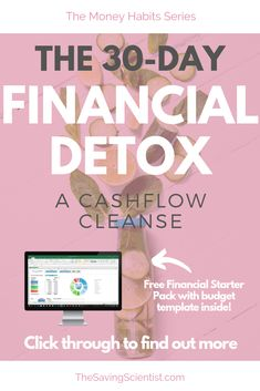 Taking back control of your finances is much like taking control of your diet. And one of the best ways to do it is with a financial detox. Financial Goals, Financial Planning, Pay Yourself First, Investing Money, Budgeting Tips, Debt Free, Shopping Spree, Money Management, Money Saving Tips
