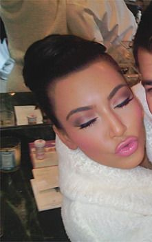 Kim - Makeup beautiful. RH <3