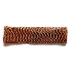 Support serre tête marron doré à décorer customisation