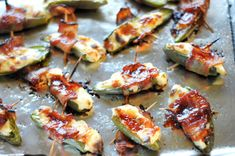 BBQ Ranch Bacon-Wrapped Jalapenos-similar to ones I make that have grated sharp cheddar in as well, they are amazing!