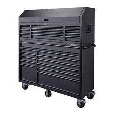 Husky 56 in. 23-Drawer Tool Chest and Rolling Cabinet Set, Textured Black Matte-HOTC5623BB1S - The Home Depot