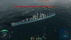 World of Warships Cleveland cruiser Gameplay