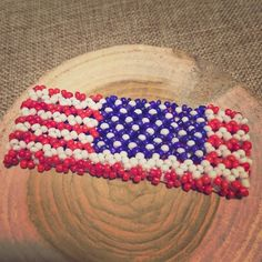 SALEUSA bracelet Brand new. Red, white, and blue. The beautiful colors of our flag. Show your pride with this handmade beaded stretch bracelet. Bella B Jewelry Bracelets