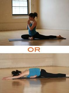 Stretch Those Tight Hips and Lower Back