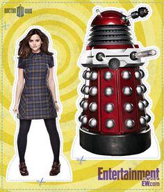 Entertainment Weekly has Doctor Who paper dolls for you to cut out and keep!