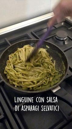 Pasta Sauce Recipe Vegetarian, Pasta Sauce Recipes, Pasta Dinner Recipes, Spaghetti Recipes, Vegetarian Recipes, Linguine, Salsa, Gnocchi, New Recipes