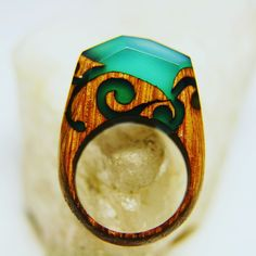 Secret Wood specialize in handmade wooden rings, each ring is unique and made using fresh wood, jewelry resin, and beeswax. It takes 4-5 weeks for Secret Wood