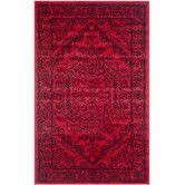 Found it at Wayfair - Adirondack Red & Black Area Rug