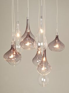 Melia Cluster Ceiling Light. Pendant Light