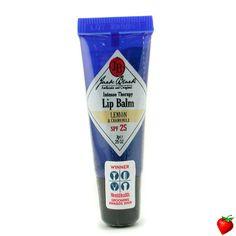 Jack Black Intense Therapy Lip Balm SPF 25 With Lemon & Chamomile 7g/0.25oz #JackBlack #MensSkincare #LipBalm #GiftForHim #FREEShipping #StrawberryNET #HolidayGift #HotPick