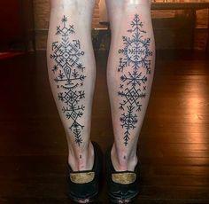 Croatian geometric tattoos.                              …