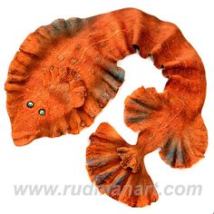 Halloween gift 20 discount Felted Art Scarf made from by RudmanArt, $149.00