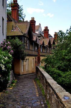 Dean Village - Edinburgh, Scotland. The ultimate Scandinavian-home-from-home