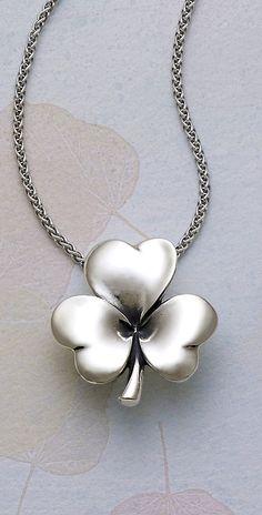 Shamrock of Hearts Pendant from James Avery Jewelry   secure.jamesavery.com