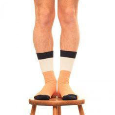 Pointer x Democratique Socks (Navy, Orange & White) Orange, Pointers, Socks, Navy, Men, Accessories, Fashion, Hale Navy, Moda