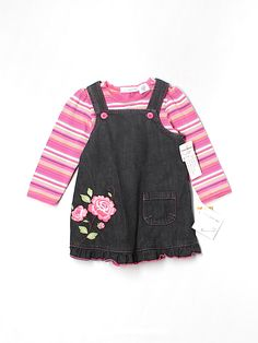 a38bba7217f5 Check it out -- Baby Greendog Overall Dress for  14.99 on thredUP!